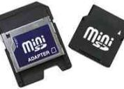 Mini sd card con adaptador 512mb