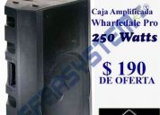 Caja amplificada wharfedale pro 250 watts $ 190