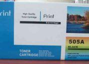 Toner laser hp ce505a compatible  printt