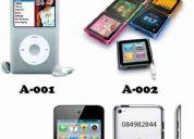 Ipods y toda clase de reproductores de musica!!!!!!!a los mejores precios