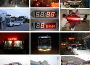 Paneles electronicos - velocimetro para bus