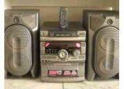 Remato equipo sonido sony gr 8000 flamante