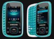 Celular samsung bt 3310, memoria 1gb, teclado qwerty, camara 2mp