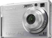 Vendo camara sony w-90    8mp