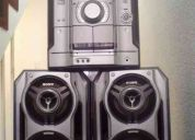 Equipo sonido sony mhc-rg330