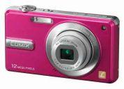 Camara panasonic dmc-f3  rosa   $177