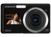 Camara samsung pl100 con doble pantalla   $224