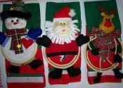 Toallas y toalleros decorativos navideÑos