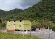 Vendo casa de campo  ideal para campamento o cursos vacacionales