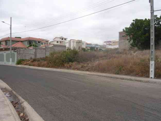 VENDO TERRENO DE OPORTUNIDAD EN URBANIZACION PRIVADA MANTA BEACH