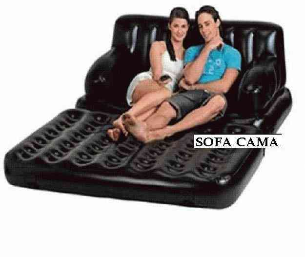 Sofa cama inflable quito doplim 5261 for Sofa cama inflable
