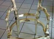 Restauracion  - bronce - plata - pan de oro - pan de plata  - limpieza