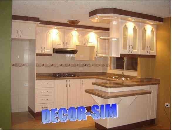 Muebles de cocina hermosos DECORSIM  Quito  Hogar  Jardin