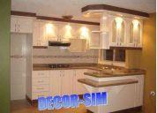 muebles de cocina hermosos decor-sim