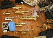 Vendo saxofones y flautas traversas  vintage de segunda