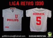 Camiseta retro liga de quito 1990 ldu ecuador exclusivas philips berrueta venta