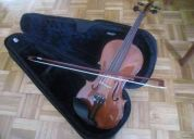 ViolÍn 4/4 usado hecho por luthier, en  buen estado de oportunidad