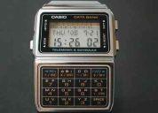 Relojes casio calculadora