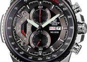 Reloj de hombre casio ef-558 nuevo en caja garantia 1 año (contacto: 081471175)