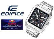 reloj de hombre casio ef-333d nuevo en caja garantia 1 año (contacto: 081471175)