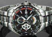 Reloj de hombre casio ef-543 nuevo en caja garantia 1 año (contacto: 081471175)