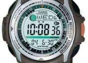 Reloj casio pathfinder pas-410 caza cronometro militar (contacto:081471175)