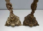Limpieza - abrillante  - pulida - articulos de bronce   - bronce - restauración