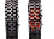 Reloj led digital de acero diseño exclusivo envio gratis