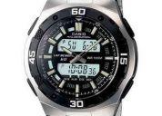 Reloj de hombre casio aq-164wd nuevo en caja garantia 1 año (contacto: 081471175)