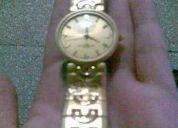 Reloj marca christian daniel  swiss quartz ,precioso dorado para varon