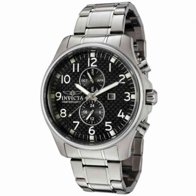 Reloj Invicta Fibra de Carbon de Coleccion unico !!!!!!!!!