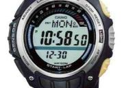 Reloj casio sgw-200 sensor de aceleración,consumo de caloria (contacto: 081471175)
