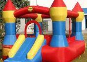 Venta y alquiler de juegos inflables y piscina de pelotas