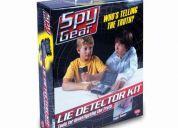Kit espía detector de mentiras