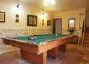 Billares,billas,futbolines,mesas de pin-pong y demas muebles para entretenimiento.(venta)