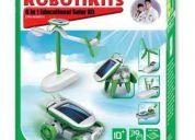 Kit robótico solar owi 6 en 1