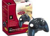 2 palancas de juegos joystick genius usb