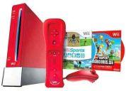 Nintendo wii 25 aniversario + 2 juegos  nuevo sellado oferta $  295.00