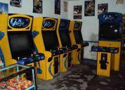 Vendo de maquinas de juegos electronicos de oportunidad