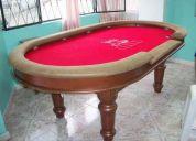 Venta de mesas de poker