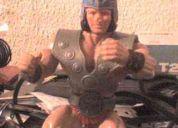 Juguete de galaxy wars de 1983 y de las tortugas ninja