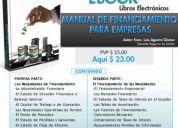 Libro electronico: manual de finanzas para empresas