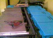 Vendo mesa lineal de estampado