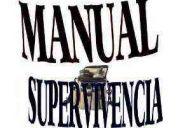 Manuales de supervivencia vida autosuficiente