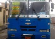 Vendo bus isuzu ftr2001