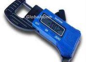 Medidor de espesores, micrometro