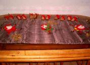 Hermosos manteles navideño - ideal para su centro de mesa