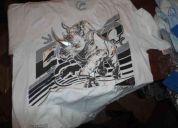 4 camisetas aeropostale, ecko nuevesitas