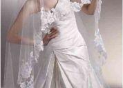 Hermosos velos y mantillas para vestidos de novia