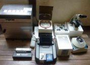 Laboratorio clinico, microscopio, fotometro,centrifuga, baÑo maria, analizador de orina